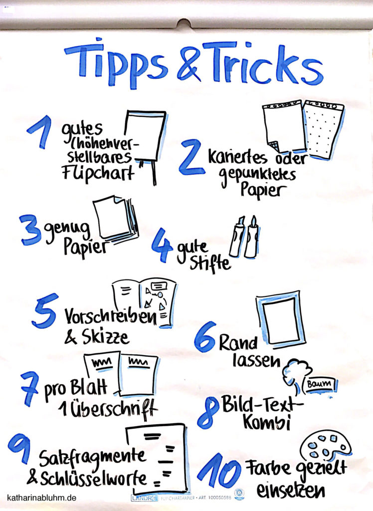 10 Tipps und Tricks für Flipcharts