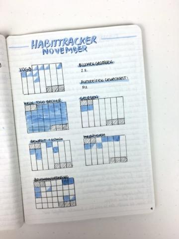 Habittracker: Eigene minimalistische Monatsübersicht pro Gewohnheit