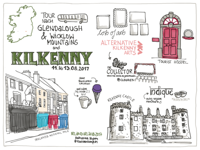 Travelsketchnotes Irland