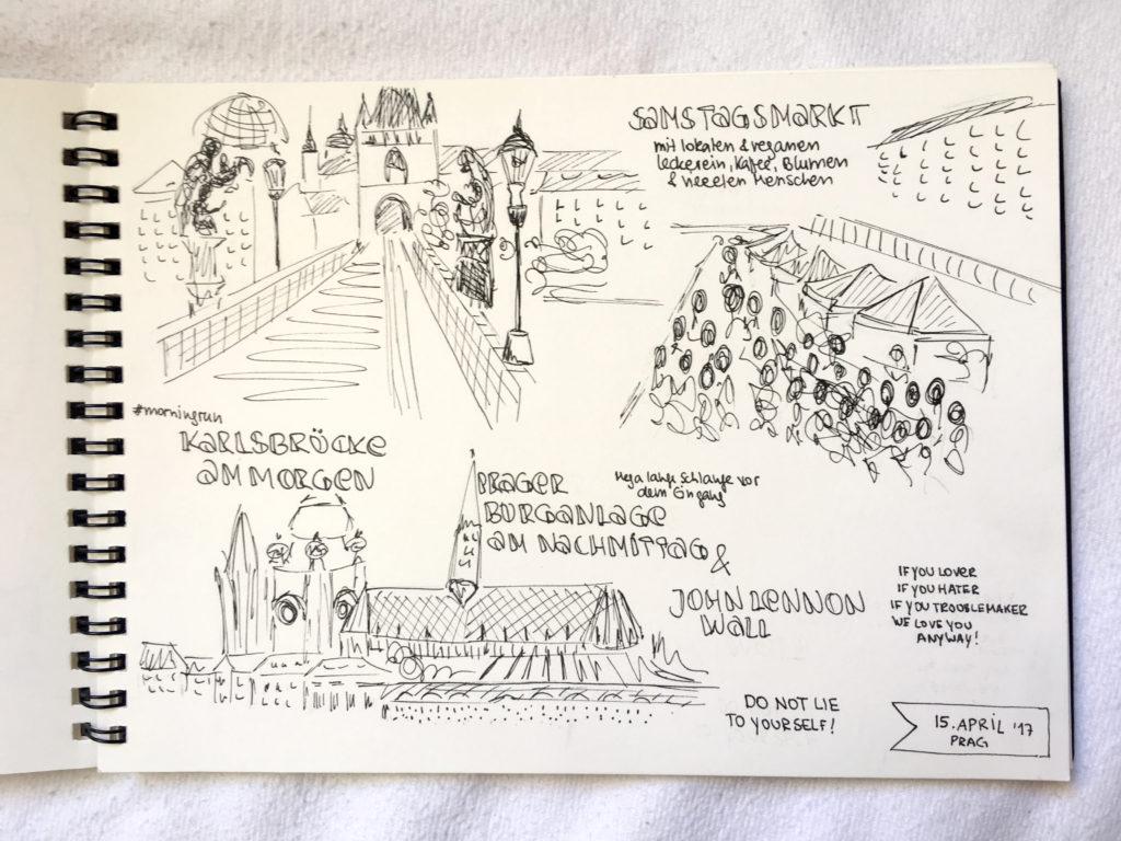 Travelsketchnotes Prag