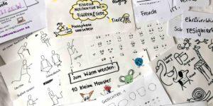 Visuelle Notizen Workshop Tiere Figuren Sketchnotes
