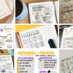 Eure #bestnine2018 Posts zu Sketchnotes, Bullet Journaling & Flipcharts
