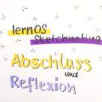 LernOS Sketchnoting - eine Reflexion der Gruppe